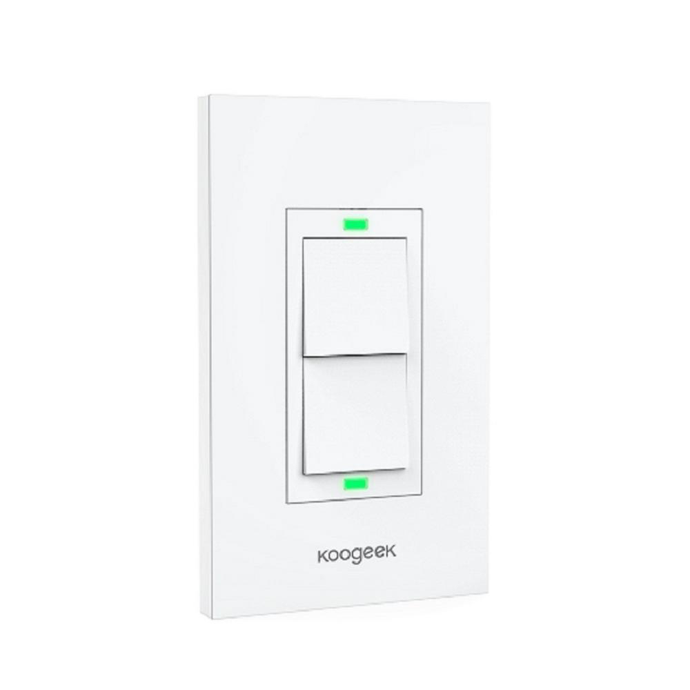 Smart Dimmer Double Light Switch